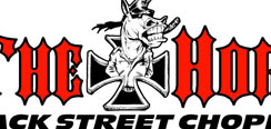 The Horse Back Street Choppers Magazine Sticker